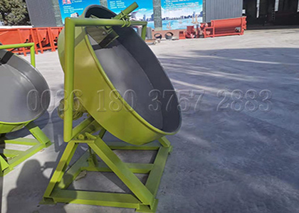 0.5 ton poultry manure granulator