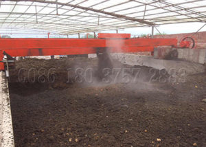 groove needed manure composting machine