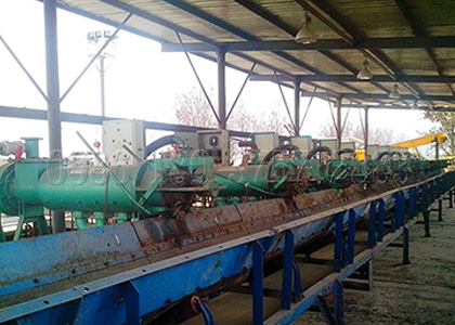 manure dehydrating equipment