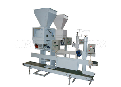 Manure fertilizer packing machine
