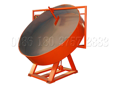disc pan compost pelletizer