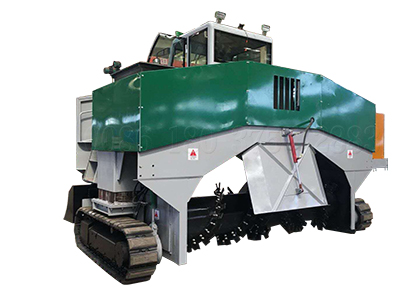 windrow type compost making machine
