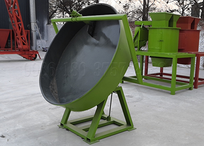6 ton per hour manure pan pelletizer