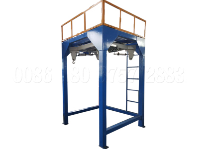 Manure ton packing machine