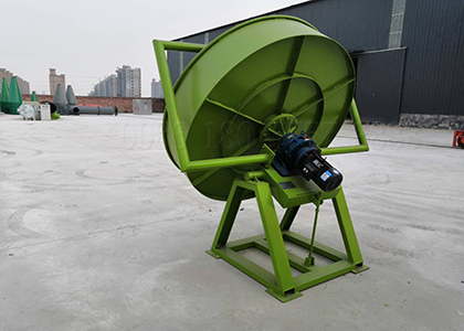 pan cow manure fertilizer pellet machine